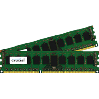 Crucial 16GB Kit (8GBx2) DDR3-1600 ECC RDIMM CT5321434