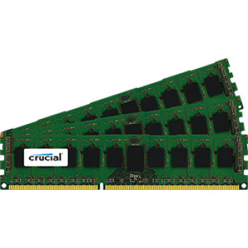 Crucial 24GB Kit (8GBx3) DDR3-1600 ECC RDIMM CT5323747