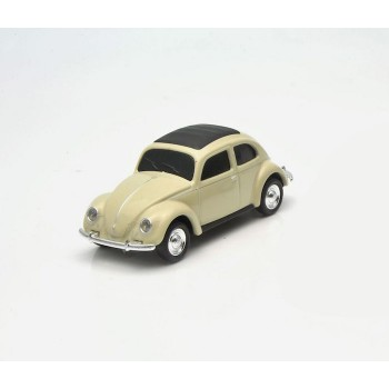 AutoDrive, USB 2 Flash Drive, VW Beetle Beige, 16 GB