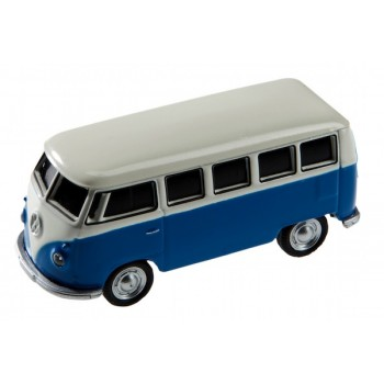 AutoDrive, USB 2 Flash Drive, VW Bus Blue, 16 GB