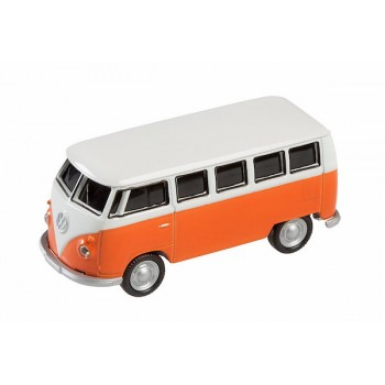 AutoDrive, USB 2 Flash Drive, VW Bus Orange, 16 GB
