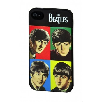"""The Beatles"" Hard Case for iPhone 4/4S, Colors"