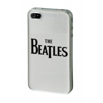 """The Beatles"" Metal Shield for iPhone 4/4S, Silver"