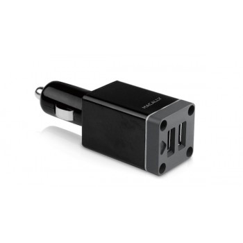 Macally CARUSB20, 2x2A Autocharger for iPad, iPhone & iPod