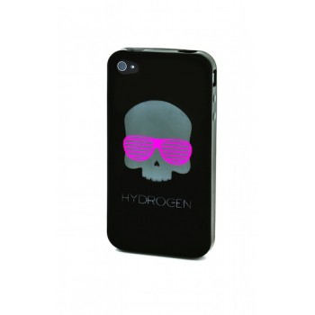 HYDROGEN Skull Soft Case, for iPhone 4, Shades