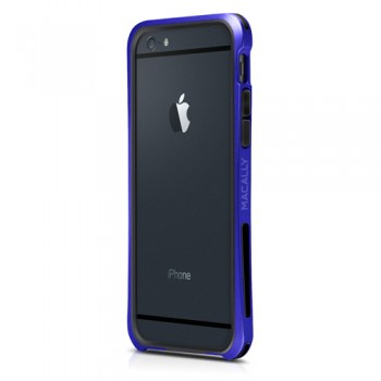 Macally IronRim, bumper frame case for iPhone 6/6s, Blue