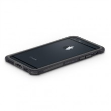 Macally IronRim, bumper frame case for iPhone 6/6s, Blk, IRONP6M