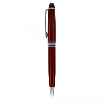 Incipio Inscribe Executive Stylus & Pen, Red