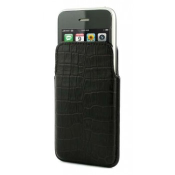 MCA Pocket Slim for iPhone 4 / 3G, Croco Black