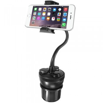 Macally MCUPPOWER, Car Holder with gooseneck and 21W charger