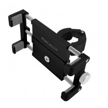 Macally BIKEMOUNT for iPhone (up to 87 mm wide), Black