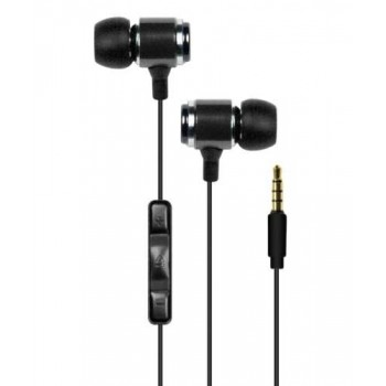 Macally Tunepal Pro Stereo Headset for iPhone, black