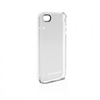 Marware DuoShell for iPhone 4/4S, White/Transparent