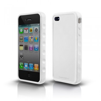 Marware Sport Grip for iPhone 4, White
