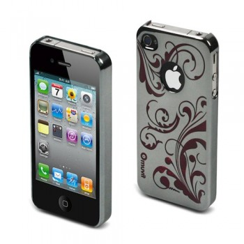 muvit Luxury Back, for iPhone 4, Fuchsia