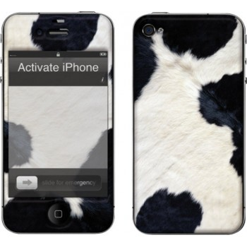 muvit Customization Kit for iPhone 4, Cow
