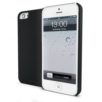 muvit iGum Case for iPhone SE/5s/5, Black