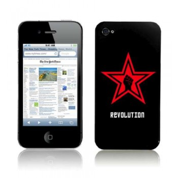 Nextware Art Pop, Clip Case for iPhone 4, Revolution