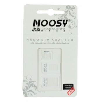Noosy Nano-SIM Adapter Kit, 3-Pack