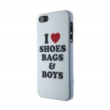 SKILLFWD I love SHOES Hard Case, for iPhone SE/5s/5