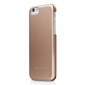 Macally SNAP, protective snap-on case for iPhone 6/6s, champagne