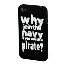 "SKILLFWD Quotes Case ""Be a Pirate"", for iPhone 4S"