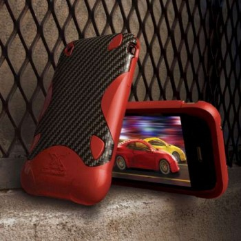 XGear Touge SE Case, for iPhone 3G/3G S, red