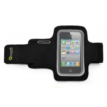 muvit Armband, for iPhone 4s/4 & iPod touch, Black