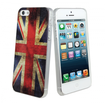 muvit OLD FLAG BACK, for iPhone SE/5s, UK