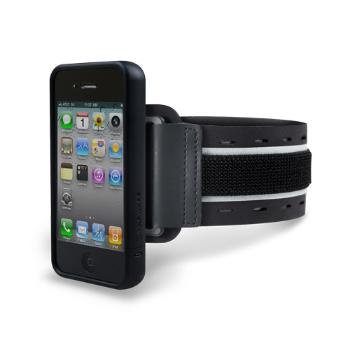 Marware Sportshell™ Convertible for iPhone 4, black